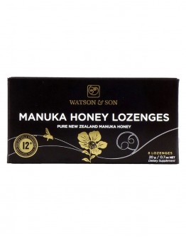 Watson & Son Manuka Honey Lozenges MGS 12+